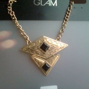 Vintage Designed Golden Egyptian Necklace